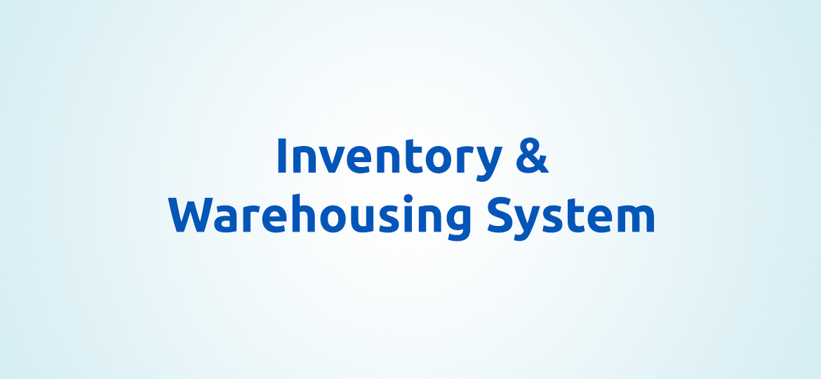 Inventory & Wareshouing System